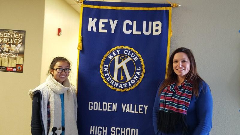 Joyce Kim Honored by Southern California Division Key Club