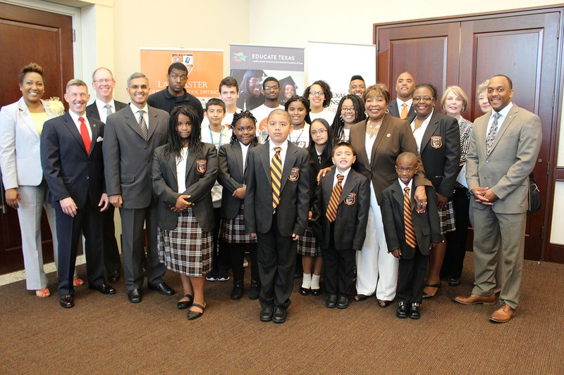 New $2.2 million Texas Instruments Foundation Grant to Educate Texas Will Advance STEM District Model in Lancaster ISD