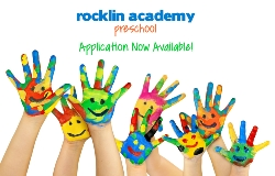 Rocklin Academy Preschool Applications Now Available!