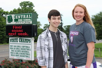 Hard work pays off for Central's Jacobs, Boles