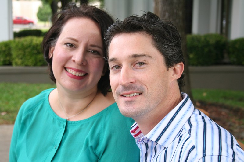 """Congratulations to Jeremy and Tracey Roden, the PTO's August """"Volunteers of the Month""""!"""