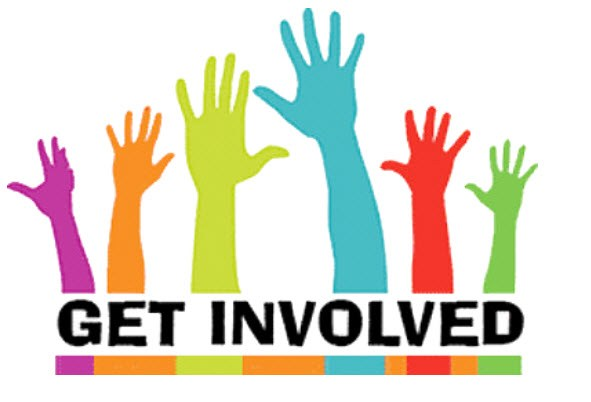 Get involved clip art