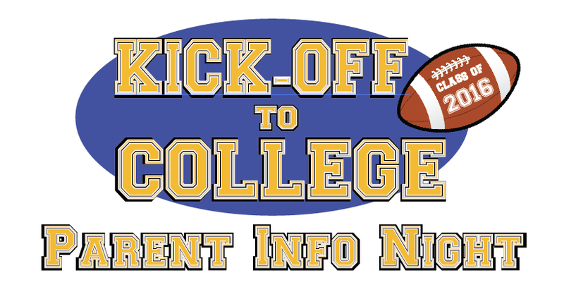 Kick Off To College Night!  Tuesday, September 1 in Webb Theater