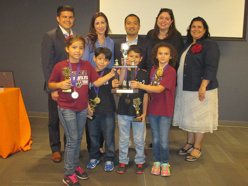 Salinas Elementary students win Engineering competition