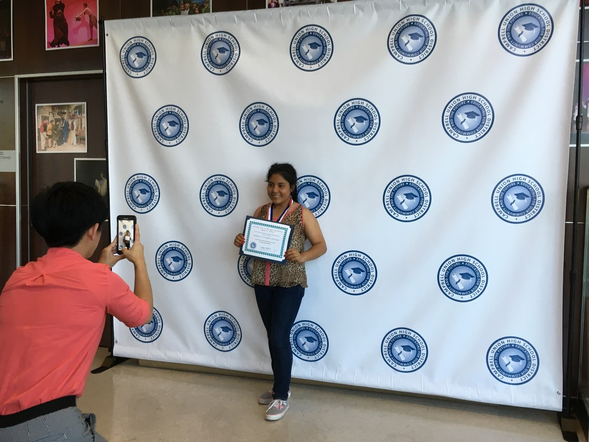 CUHSD's ESL Students Move On Up