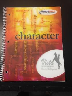 Student Planners Highlight Character