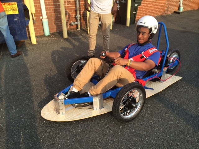 Friendship Tech Prep and Collegiate Scholars Compete in the Washington DC Electric Vehicle Grand Prix