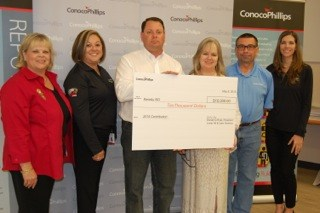 TECHNOLOGY GRANT AWARDED BY CONOCOPHILLIPS