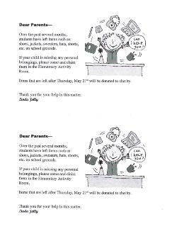 ATTENTION ELEMENTARY PARENTS