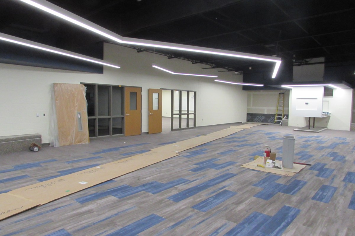 New student Commons and Classrooms