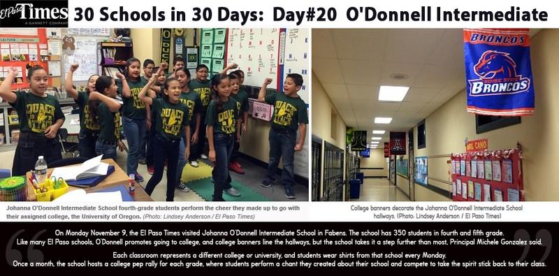30 Schools in 30 Days: O'Donnell Intermediate
