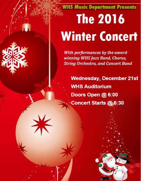 2016 Winter Concert Thumbnail Image