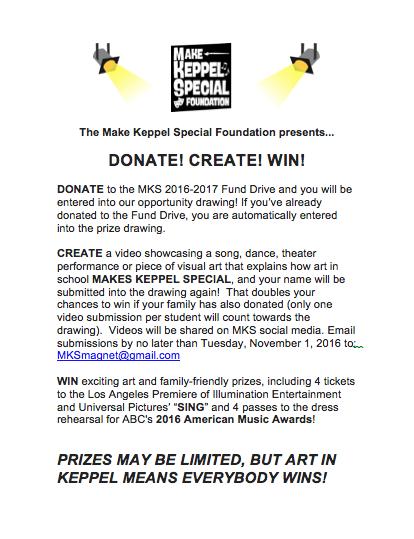 Donate, Create, & Win! Thumbnail Image
