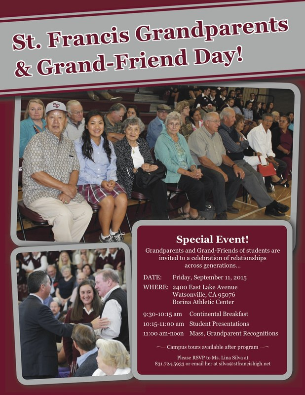 Grandparents and Grand-Friends Day!