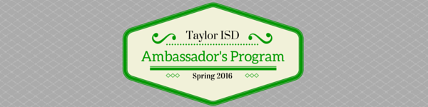 2016 Spring Ambassador's Application Available