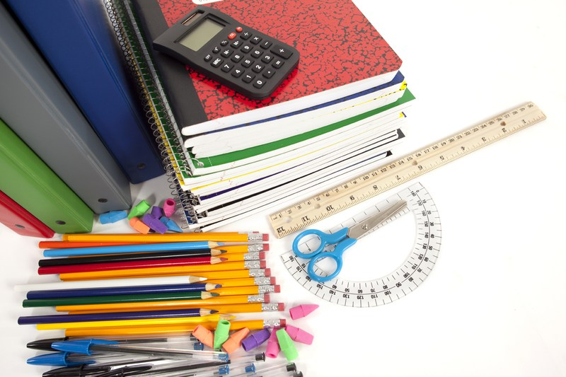 School Supply Lists Released for all Campuses
