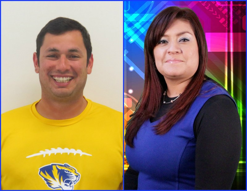 Coach Rick Valdez and Mrs. Yessica Gomez have found their way on the TIGER SPOTLIGHT this week.