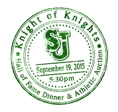 KNIGHT OF KNIGHTS ATHLETIC HALL OF FAME INDUCTION DINNER & AUCTION!