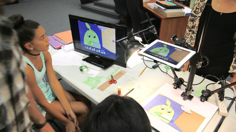 Middle School Students Created Animated Public-Service Announcements