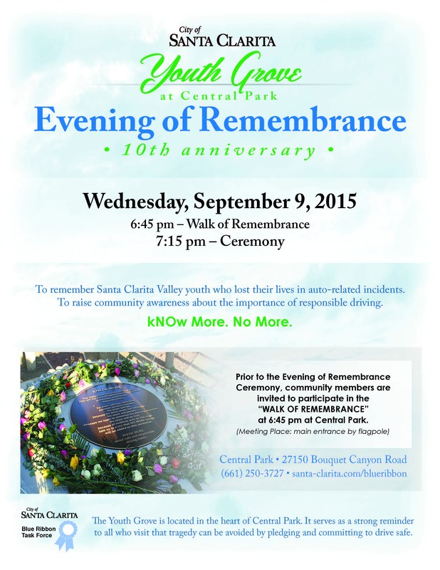 "Community Invited to Attend ""Walk of Remembrance"" to Bring Attention to Safe Driving"