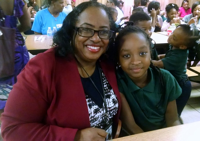 Campus director joins granddaughter for Grandparents Day breakfast at Southwest