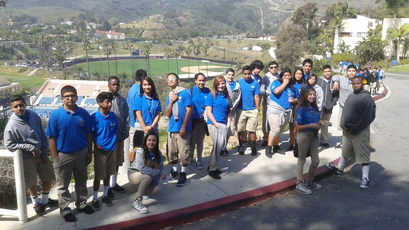 8th Graders Visit Pepperdine