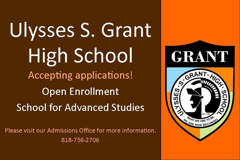 Interested in attending Grant High School? Thumbnail Image
