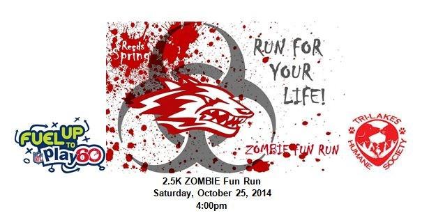 Zombie Fun Run  Oct. 24