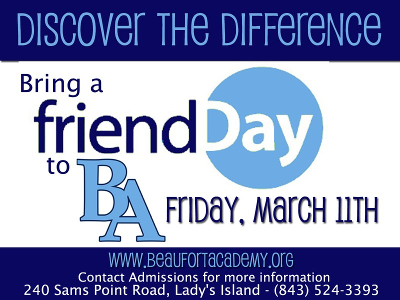 Bring a Friend to BA Day!