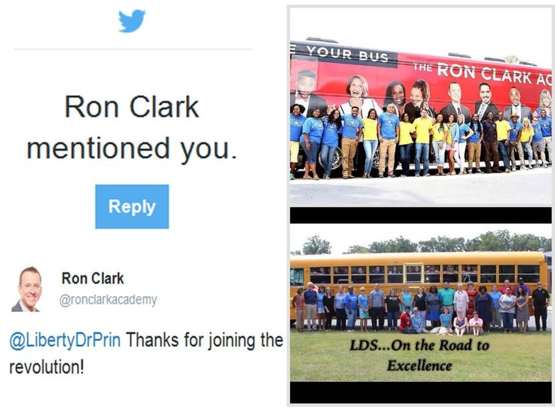 """Liberty Drive takes the Ron Clark Challenge to """"Move Your Bus"""""""