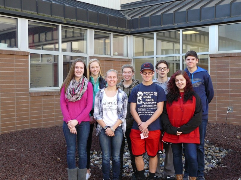 CHS STUDENTS OF THE MONTH FOR OCTOBER Thumbnail Image