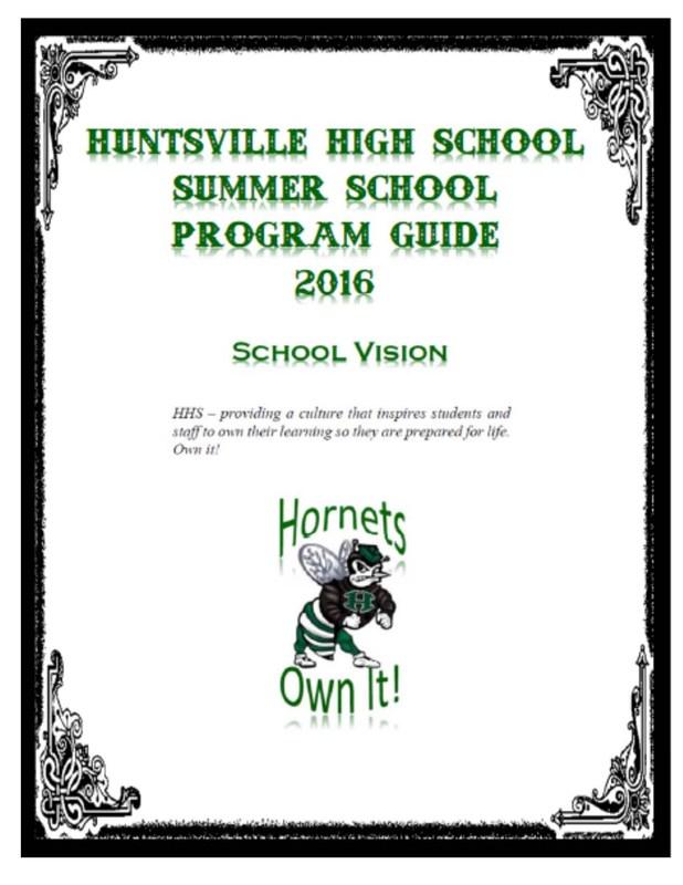 Summer Programs 2016 Information