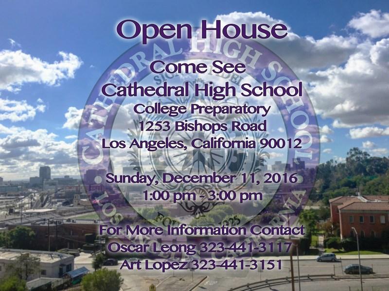 OPEN HOUSE  Sunday December 11, 2016 Thumbnail Image