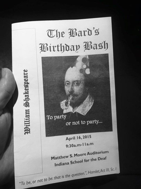 The Bard's Birthday