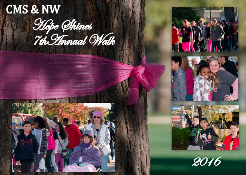 Central Middle School and Northwest School's 7th Annual Hope Shines Walk. Thumbnail Image