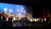The Loomis District Chorus and Jr. Eagle band entertained family and community members at the Winter Concert on December 3rd at the Del Oro High School Theater
