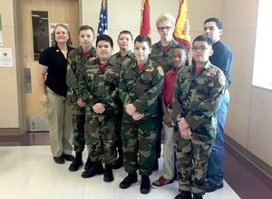 Guadalupe Valley Young Marines Earn State Honors