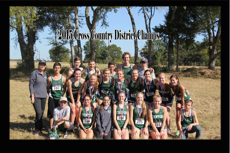 CHS Cross Country Teams are District Champions!