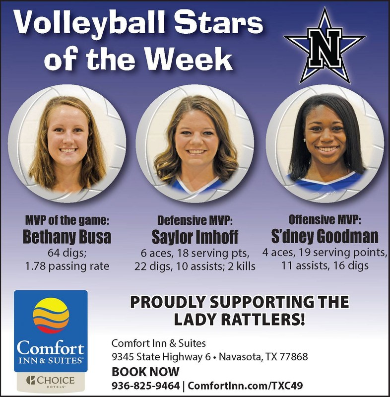 VOLLEYBALL STARS OF THE WEEK!