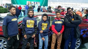 Students Learn about STEM at the Auto Show