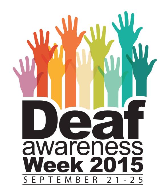 Texas School for the Deaf Honors Deaf Awareness Week 2015