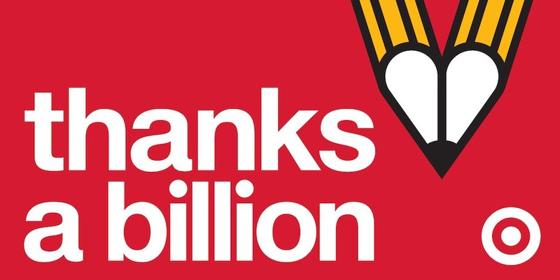 """Thanks a Billion!"" Target Kicks Off A New Teacher Appreciation Campaign"