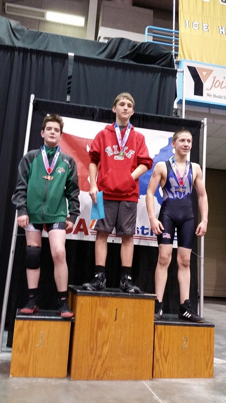 North Middle's Wrestlers Win at State Competition Thumbnail Image