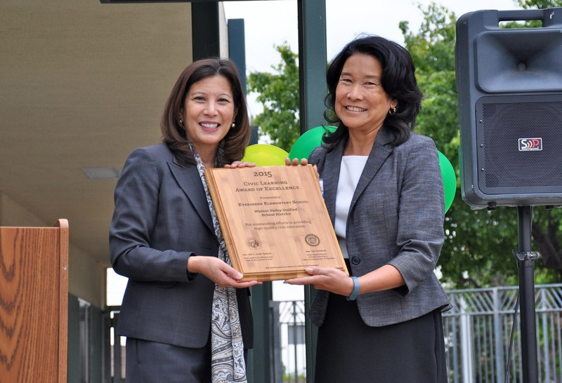 Evergreen Wins Top State Civic Learning Award