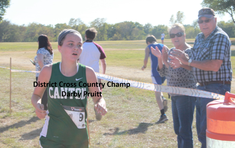 DISTRICT CROSS COUNTRY NEWS
