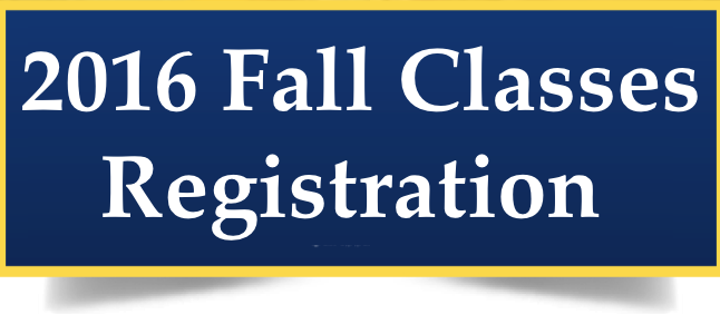 Registration for Fall 2016 Thumbnail Image