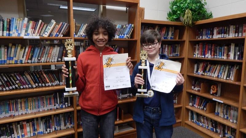 Spelling Bee Congratulations!