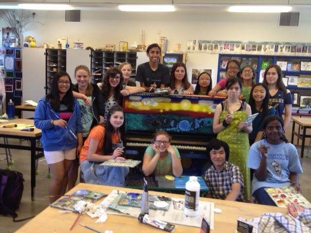 Students Create Artistic Piano