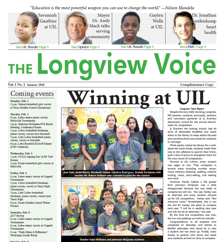 District newspaper out today on campuses, around town