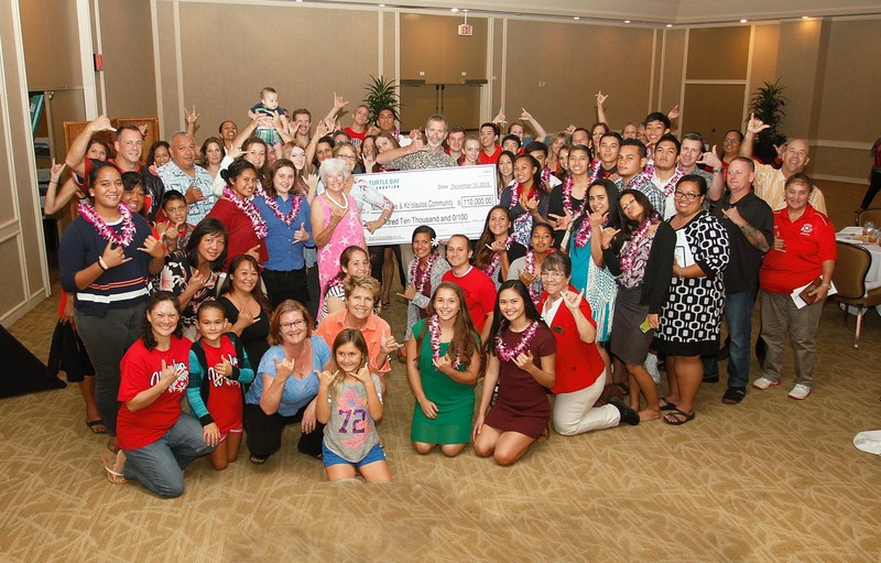 A BIG Red shout out to Turtle Bay Foundation for their support of the North Shore & Koolauloa communites in Education, Environment, and Culture through their scholarships and grants....